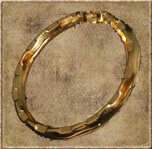 Gold Keyring Hoop