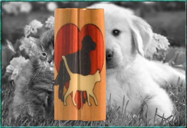 Animal Lover Inlay Blank