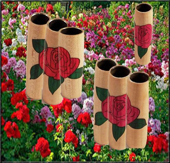Rosebud Inlay Blank - Multiple Colors!