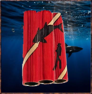Diver/Shark Inlay blank