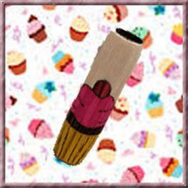Cupcake Inlay Blank