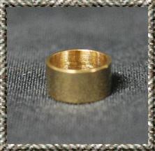 Brass 30 Cal. Pen Tip Adapter Bushing