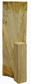 Spalted Sycamore Spindle Blanks