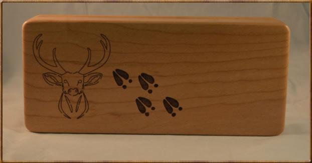 Deer Tracks Box w/ Inserts